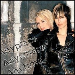 Nena and Kim Wilde
